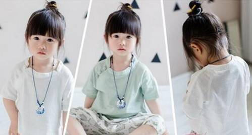 又q又萌的六款儿童短发扎发,送给各位家长!