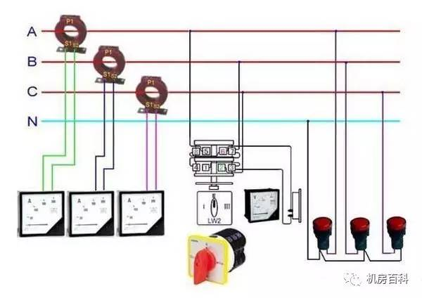 电度表内部结构