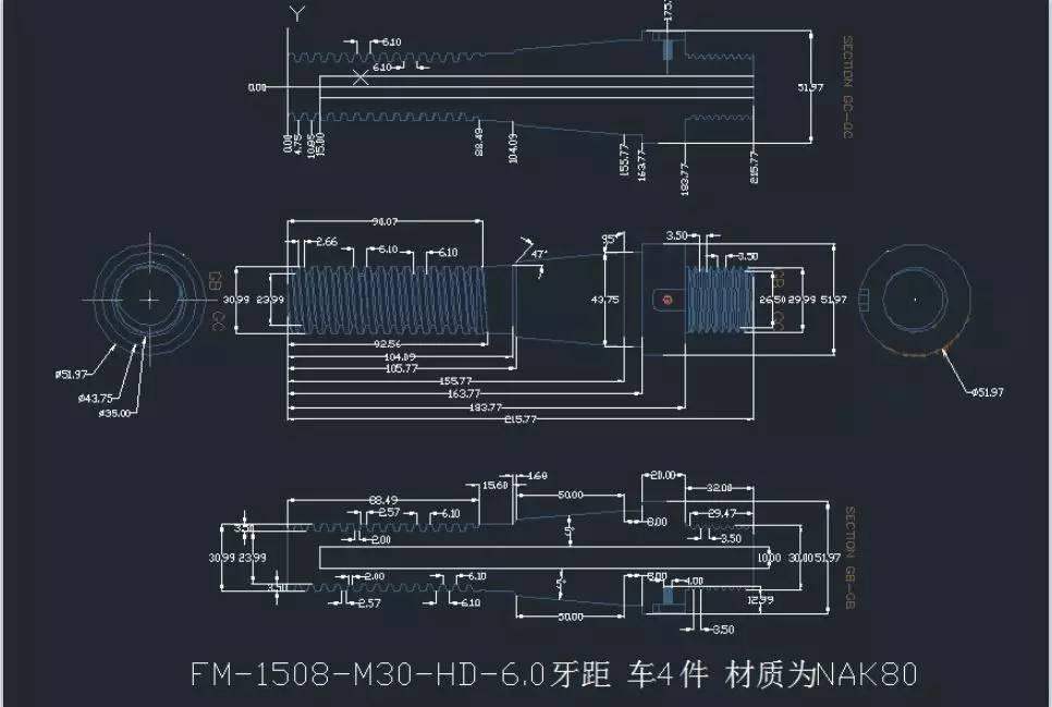 科技 正文  1 数控车床加工件 要求数控车床用宏编程进行加工 产品