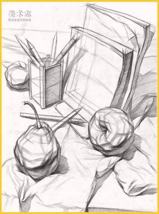 手绘物体结构图片