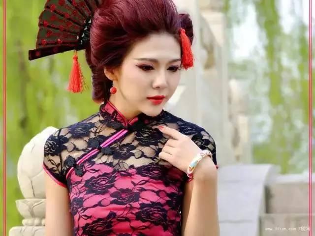 中国旗袍美女壁纸
