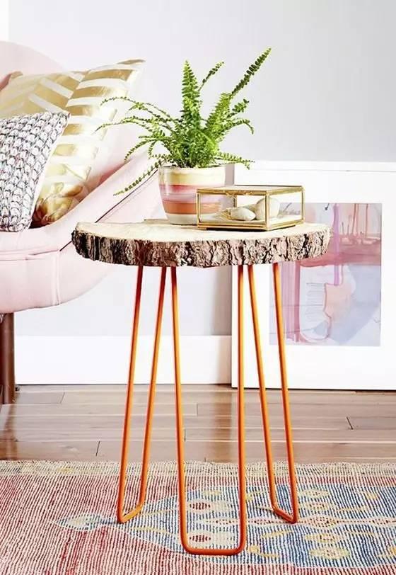 木棒手工制作椅子