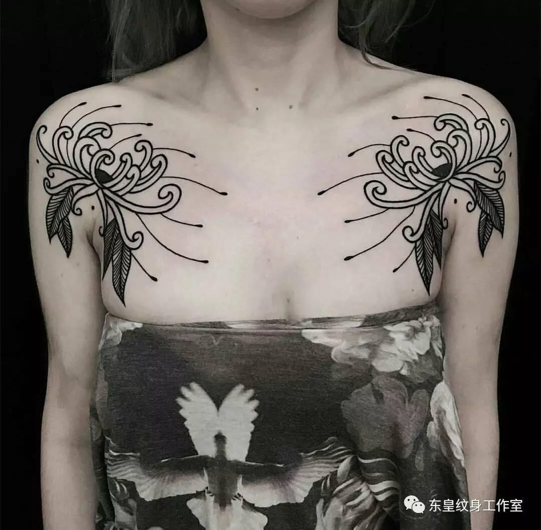海之女神-彼岸花(纹身图欣赏)