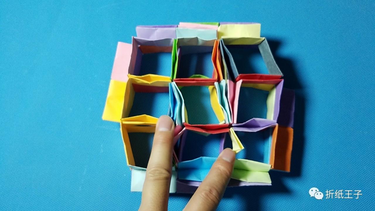 折纸王子教你折纸弹性球 魔力变形 好玩极了