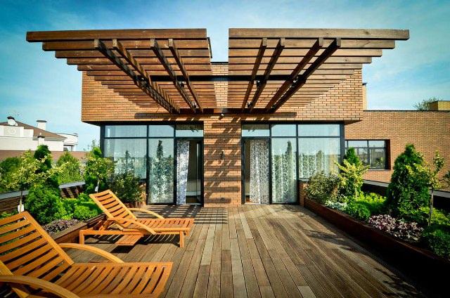 100个城市花园露台设计