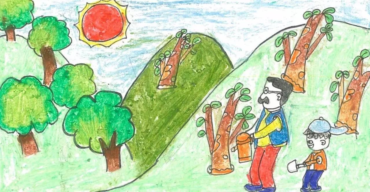今天跟大家分享的是 四联漫画大赛环保故事 《追寻梦想力量》 作者是