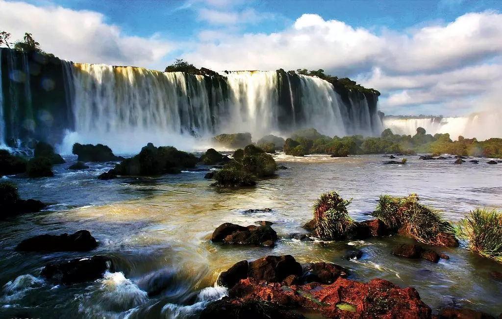 壁纸 风景 旅游 瀑布 山水 桌面 1024_651