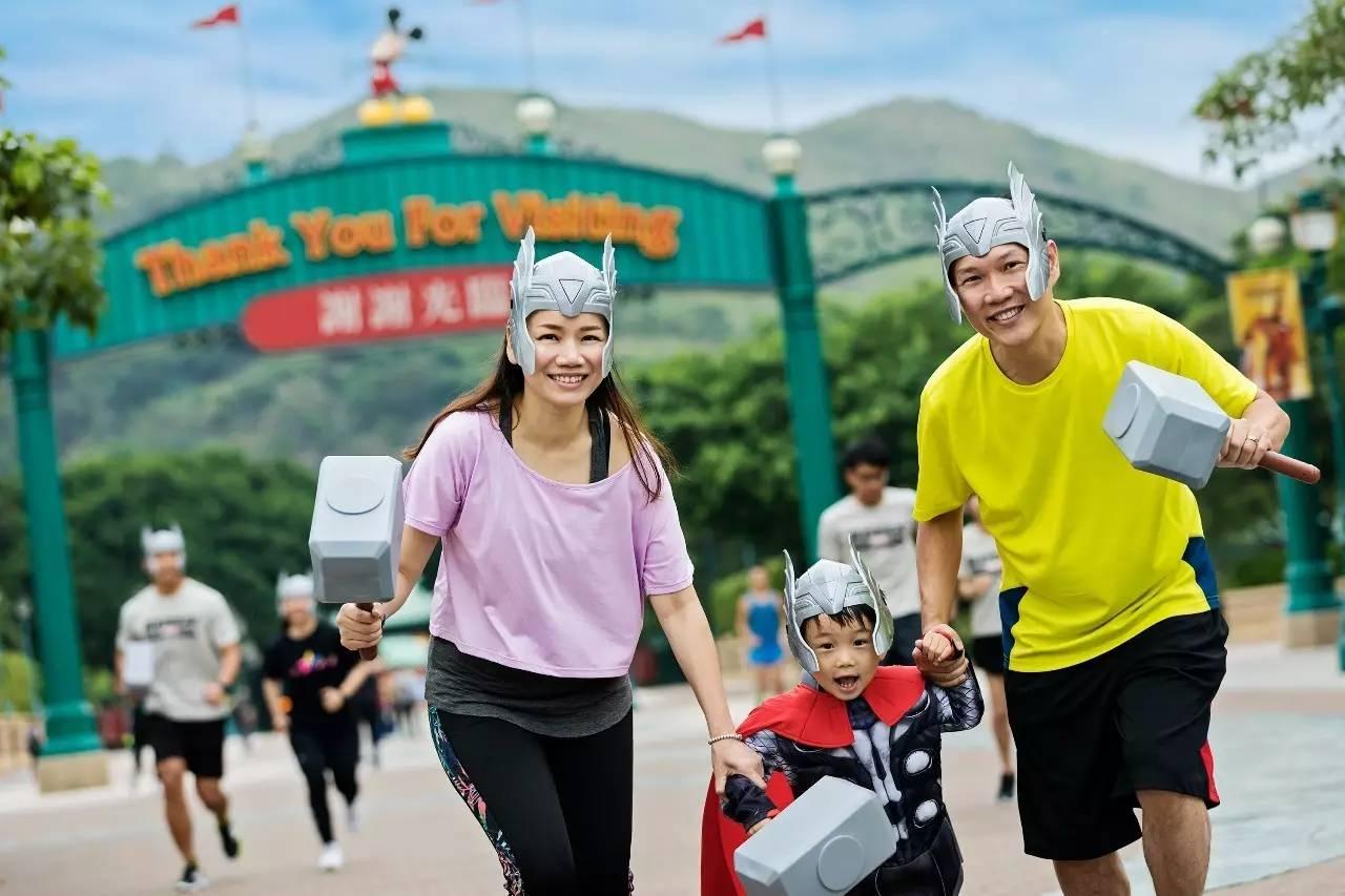 喜欢跑步的你,一定会享受跑在迪士尼奇妙王国的感受