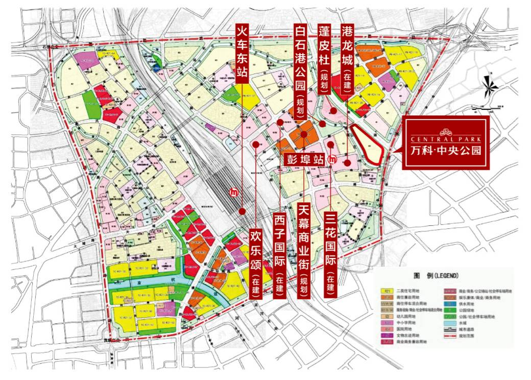 原阳县城东新区规划图