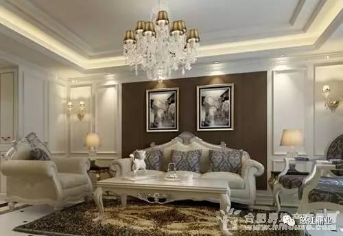 欧式客厅装修效果图大全