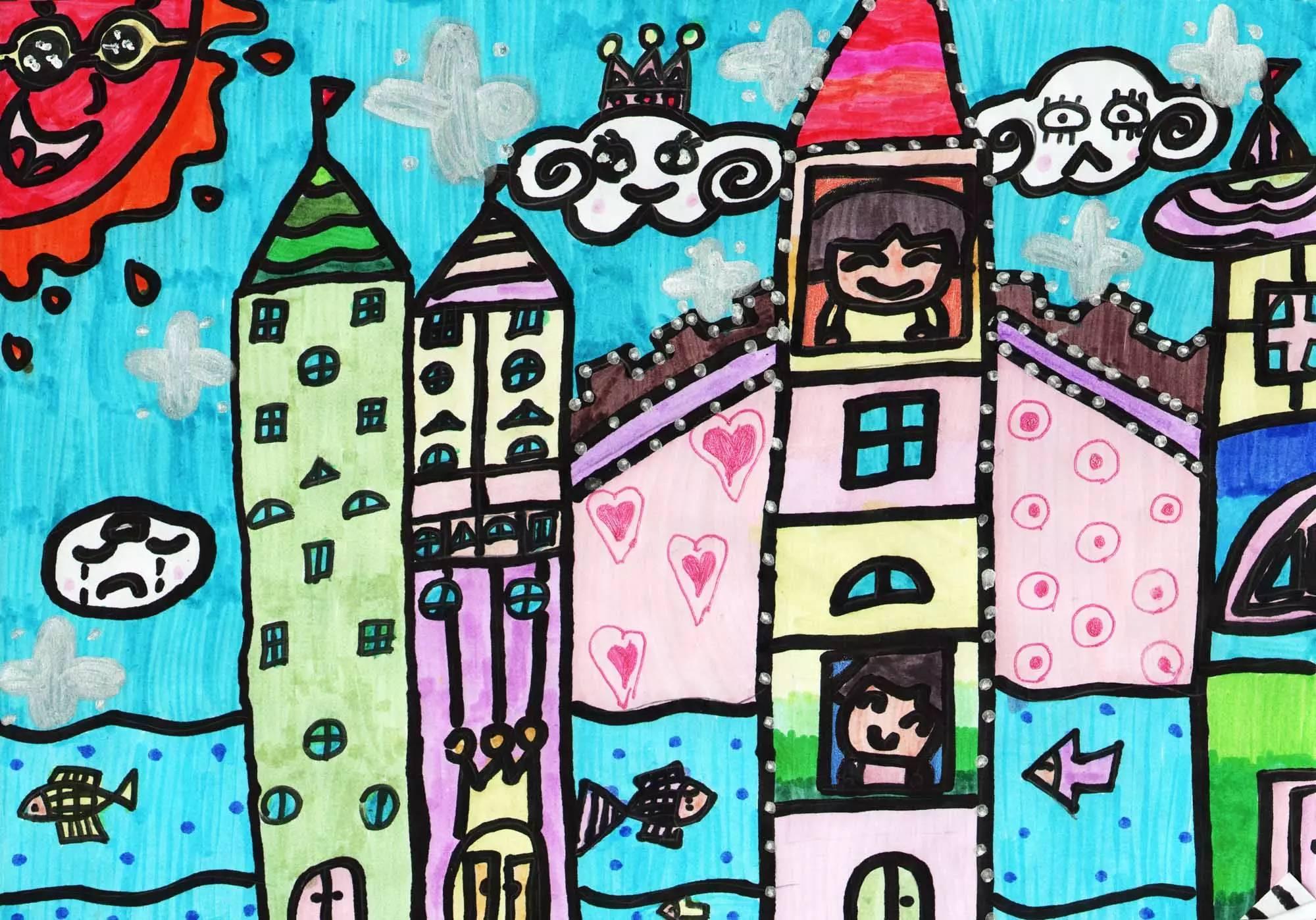 2,活动目的: 关爱少儿成长,描绘幸福未来;培养少年儿童书画热情,鼓励