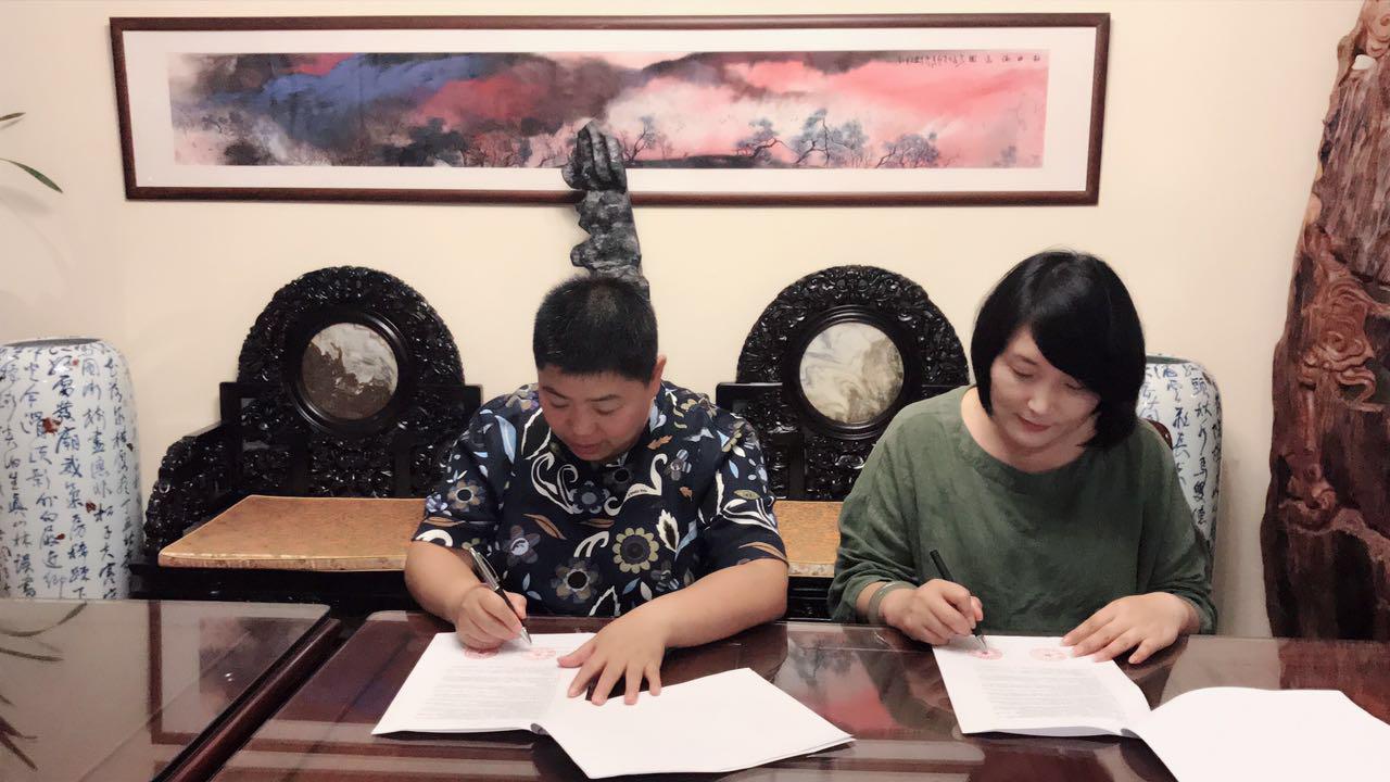 中国影视童星大赛与上海安之阁文化携手为未来呐喊