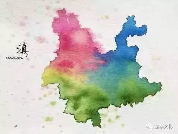 【涨姿势】中国各省份名字的历史由来及最美地图!