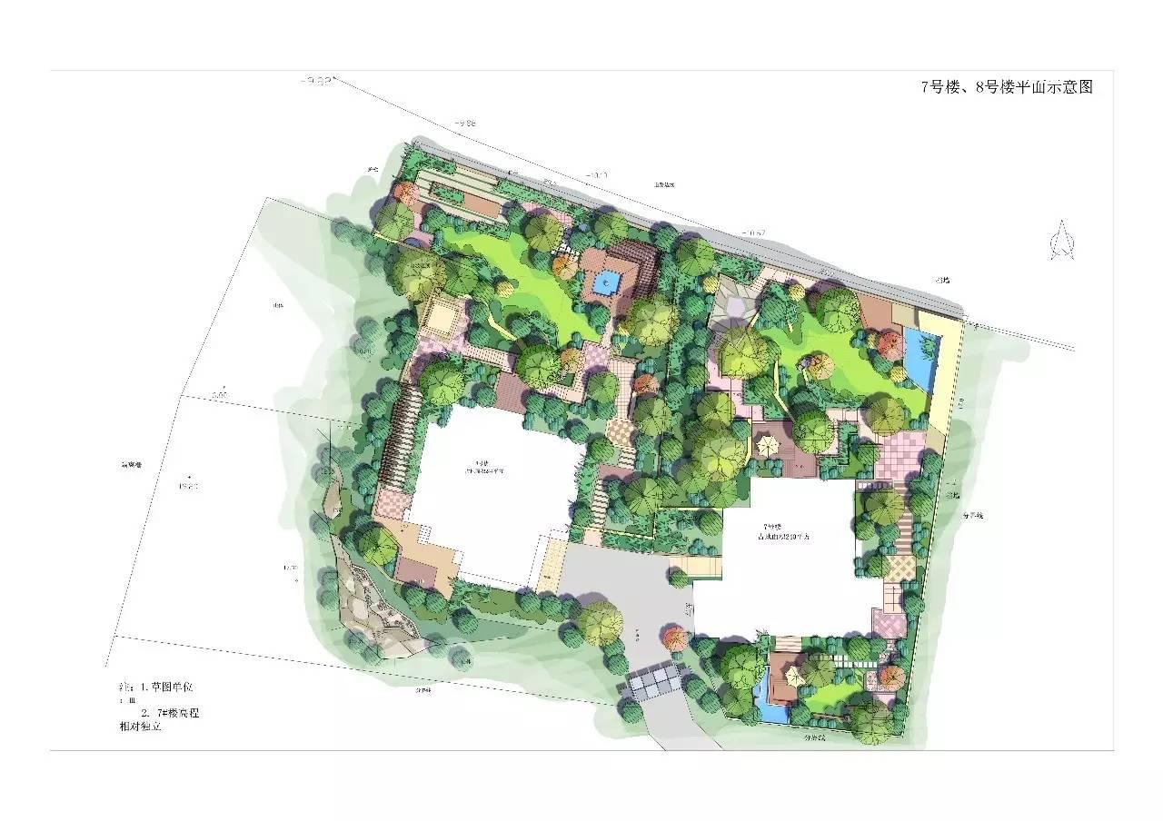 解密高大上彩色总图:国外风格建筑规划景观psd彩色总平面图分享