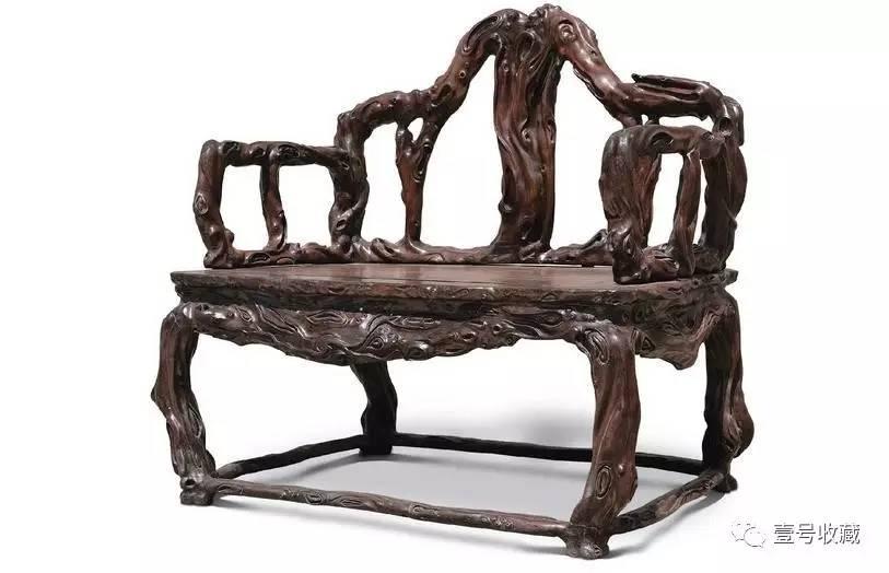 极品根雕老家具,百年一得的珍宝