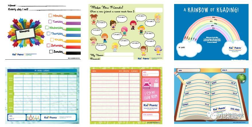 如何拥有一个有计划的暑假,送上美国家长都用的暑假计划表!图片