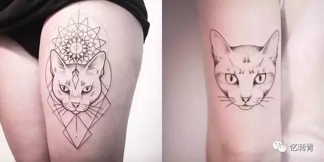 有一种纹身,我们叫它小清新