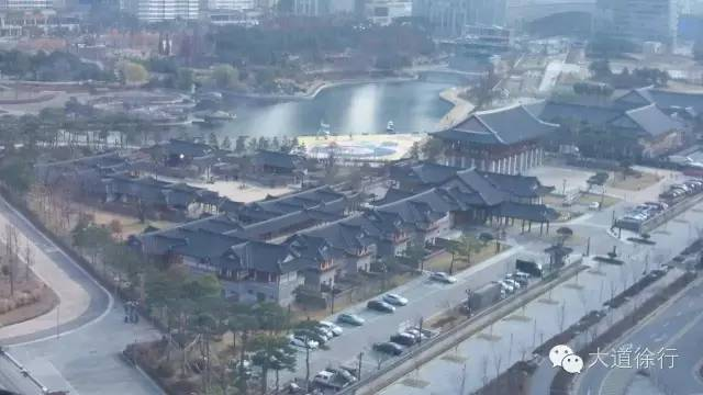 韩国松岛实景              韩国松岛填海平面图   首尔连接松岛