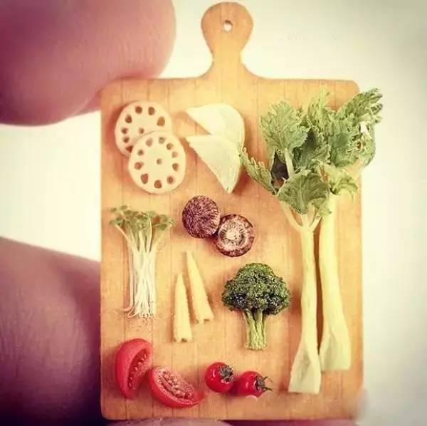 指尖创意DIY软陶手工作品,太逼真了图片