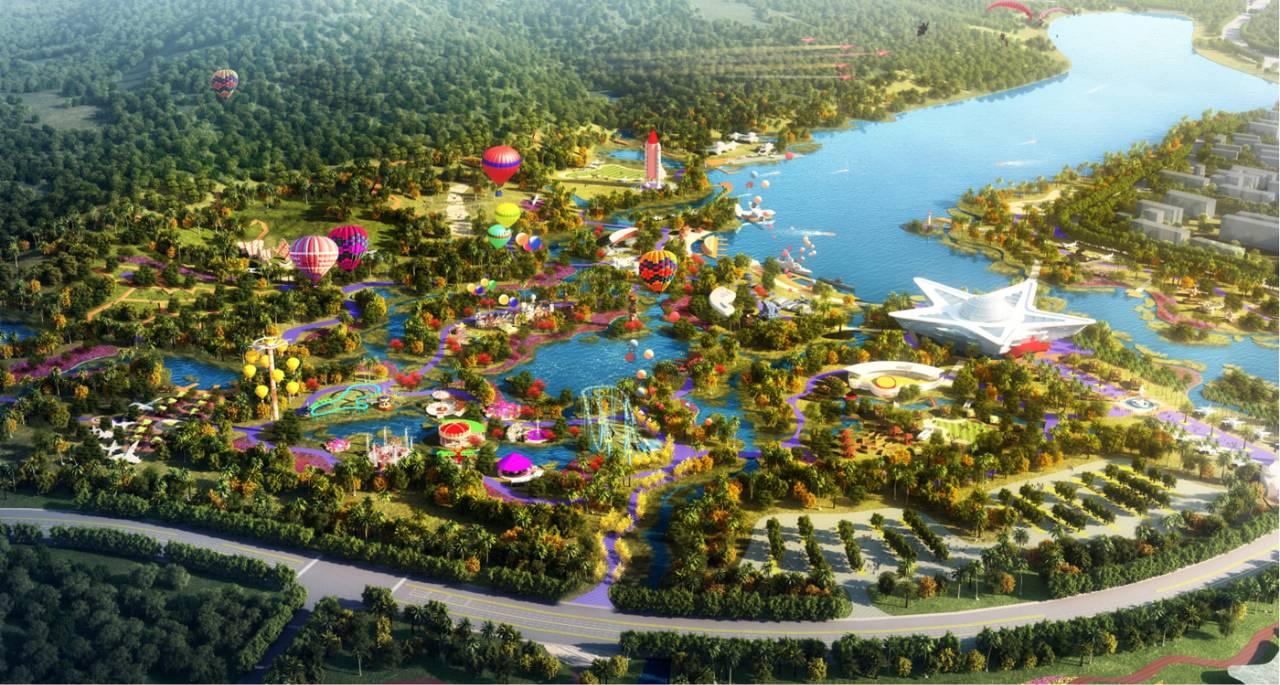 总投资超过100亿的大型主题公园即将落户肇庆啦!