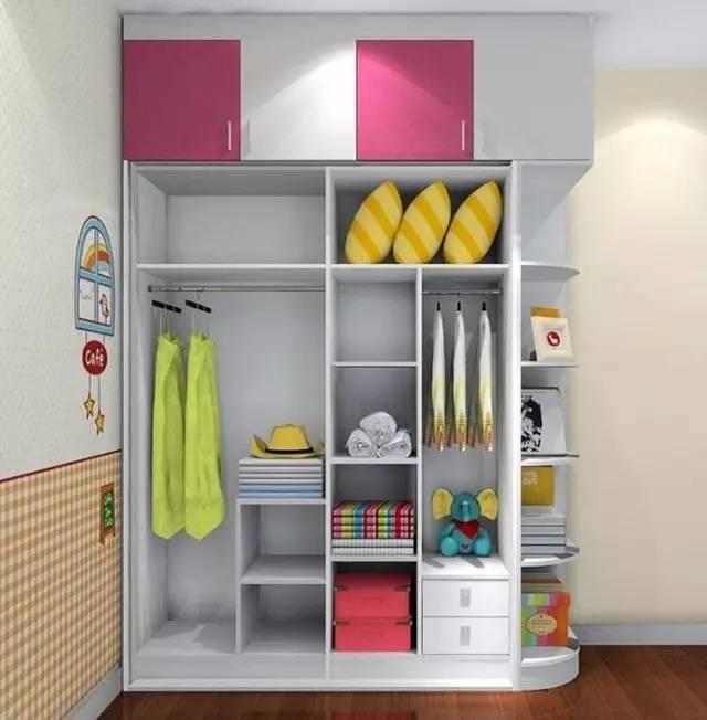 要想设计好内部结构,就要了解衣柜每个功能的尺寸把握,比如说挂大长衣
