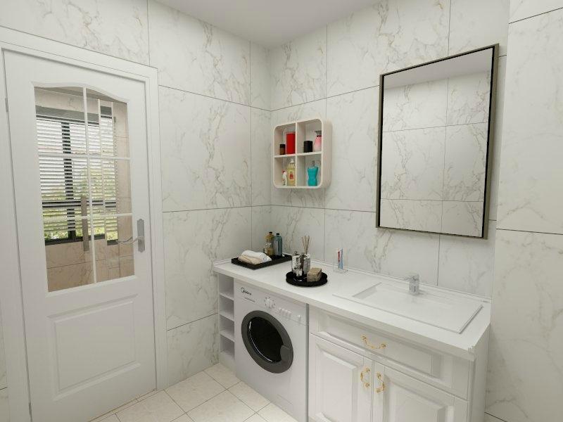 卫生间,阳台,厨房,洗衣机到底该放哪?