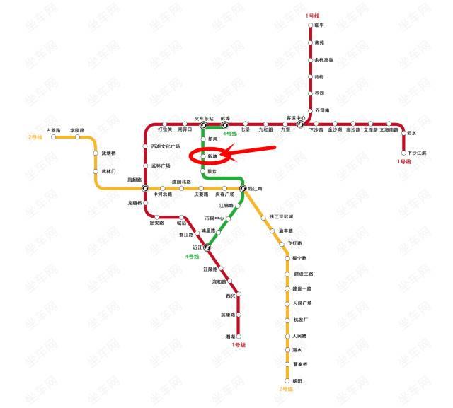 新塘朋友圈疯传, 新塘站 地铁口竟然提前开通了 真相是图片