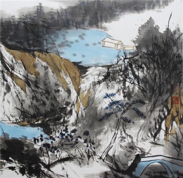 当代著名画家盛君平艺术鉴赏
