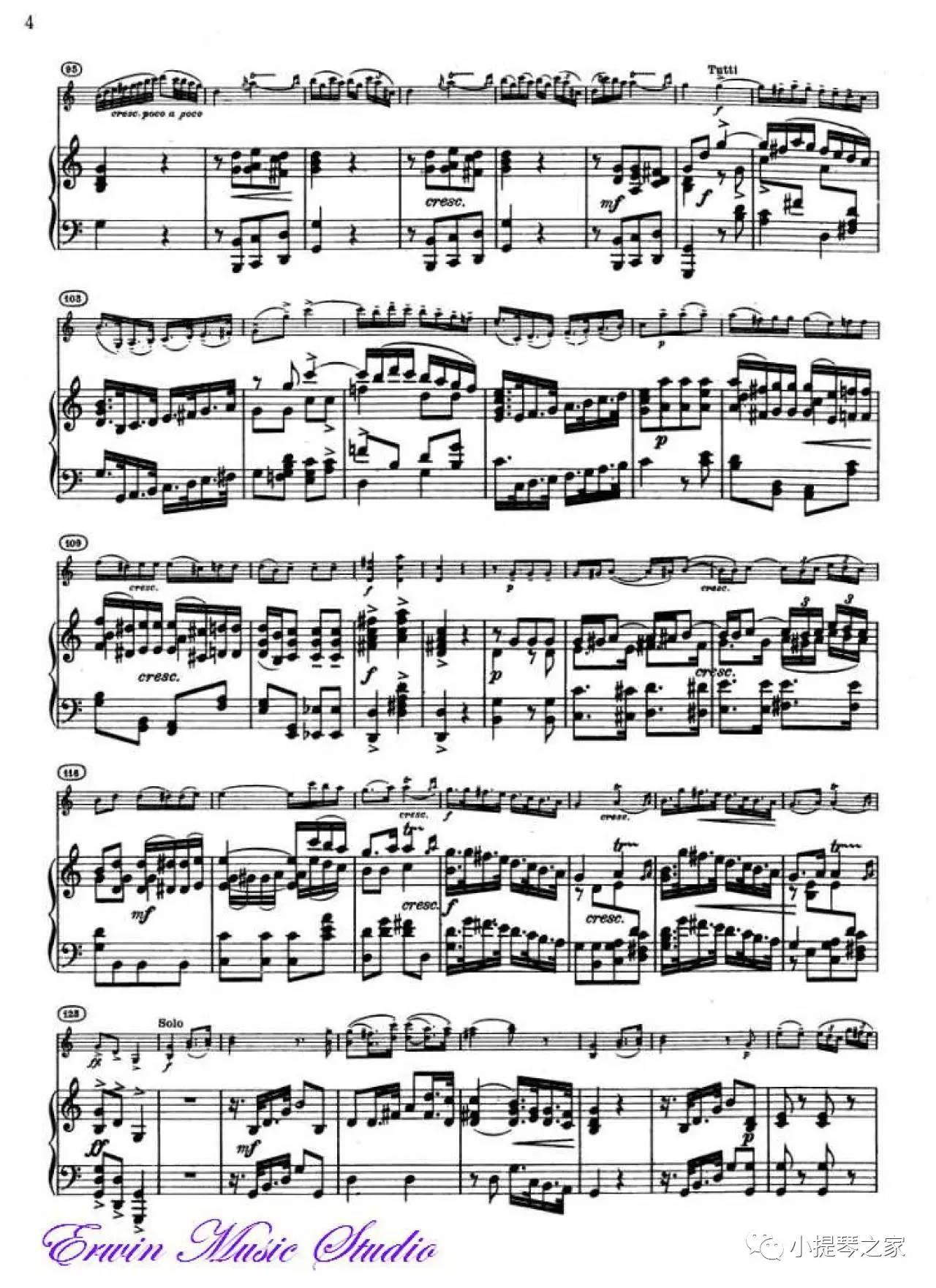 重的宫廷音乐 海顿C大调小提琴协奏曲 附乐谱 吉尔 沙汉姆演奏
