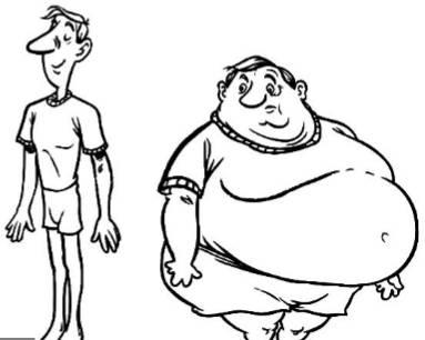 胖瘦简笔画_嗅觉决定了胖瘦!加州大学最新研究成果