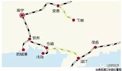 旅游高铁的共线段,始于湛江西站,沿粤海铁路东侧行进,终发展至海安站
