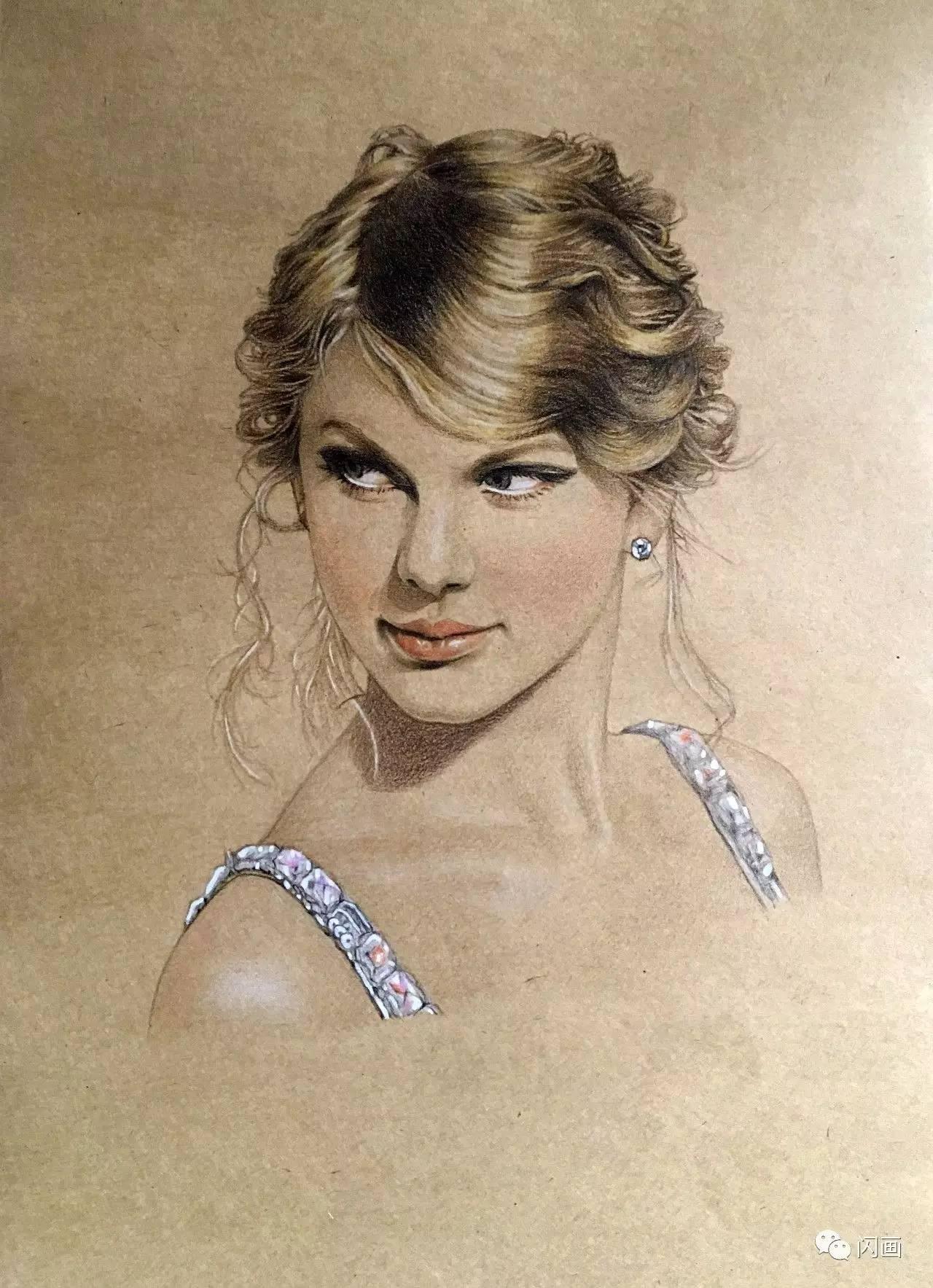 彩铅手绘《白鹿原》