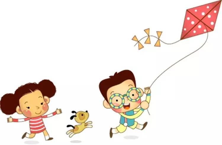 """风筝又称""""纸鸢""""、 """"鸢儿"""",放风筝是清明时节人们所喜爱的活动."""