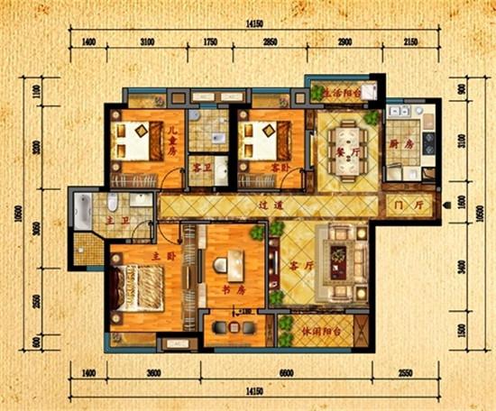 210平方房子设计图纸展示
