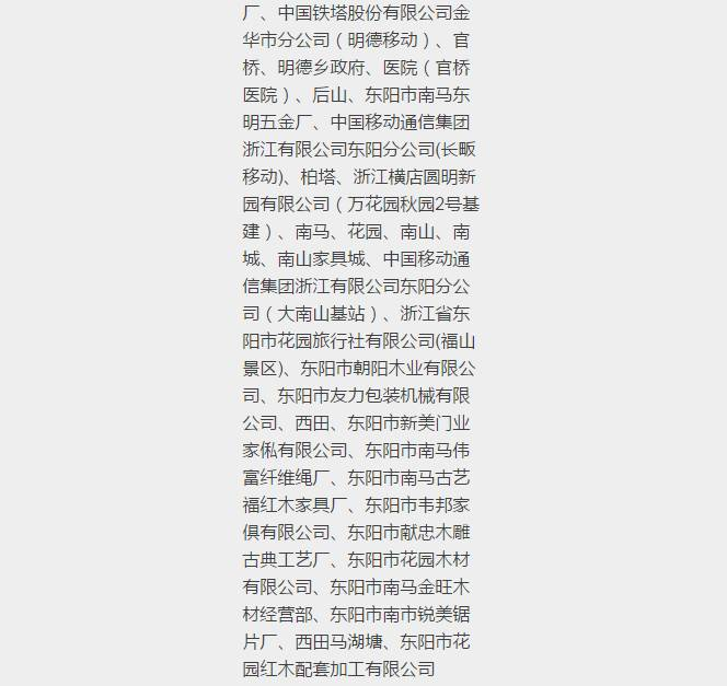 王福仙区域停电通知