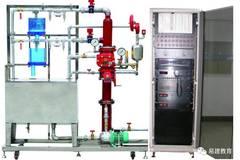 自动启动系统控制阀组和消防水泵,向系统管网供水,水雾喷头喷出细水雾图片