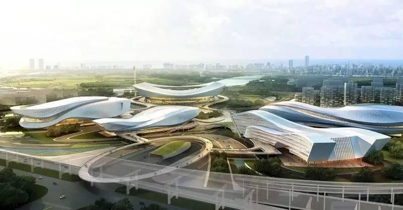 好消息,宁波奥体中心三个场馆有望明年投入使用图片