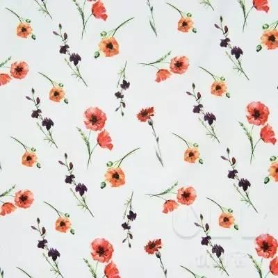 时尚 正文    植物图案化纤