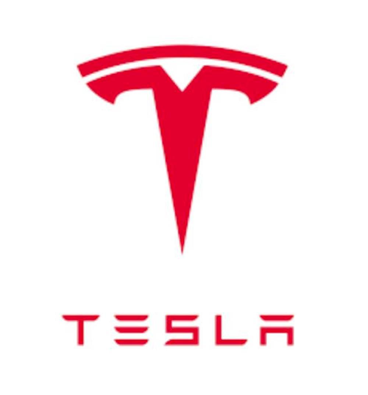 tesla logo矢量图