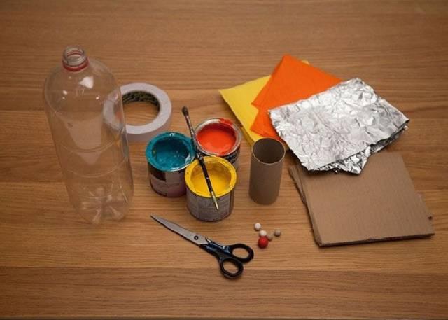 手工丨幼儿园小火箭制作教程