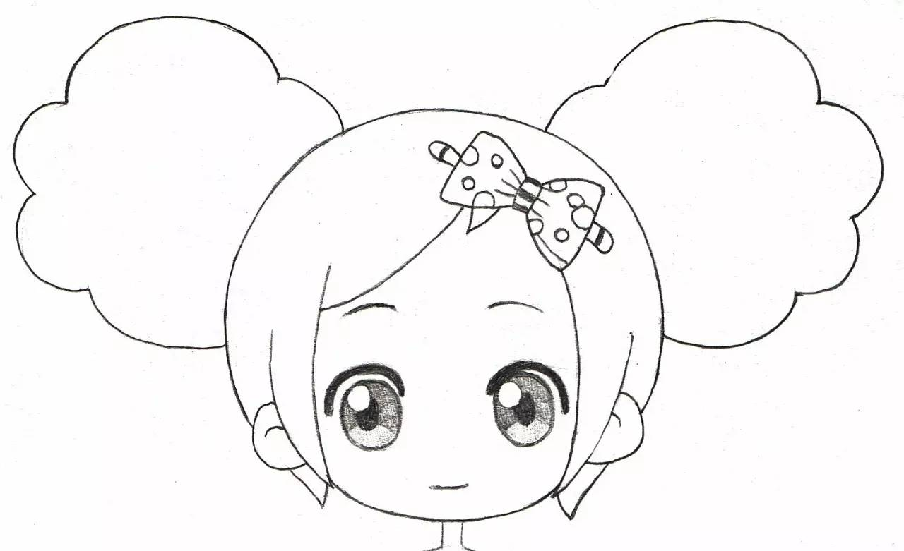 简笔画蝴蝶结-零基础绘画教程 夏安安