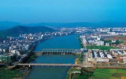 广丰区下溪城市规划图