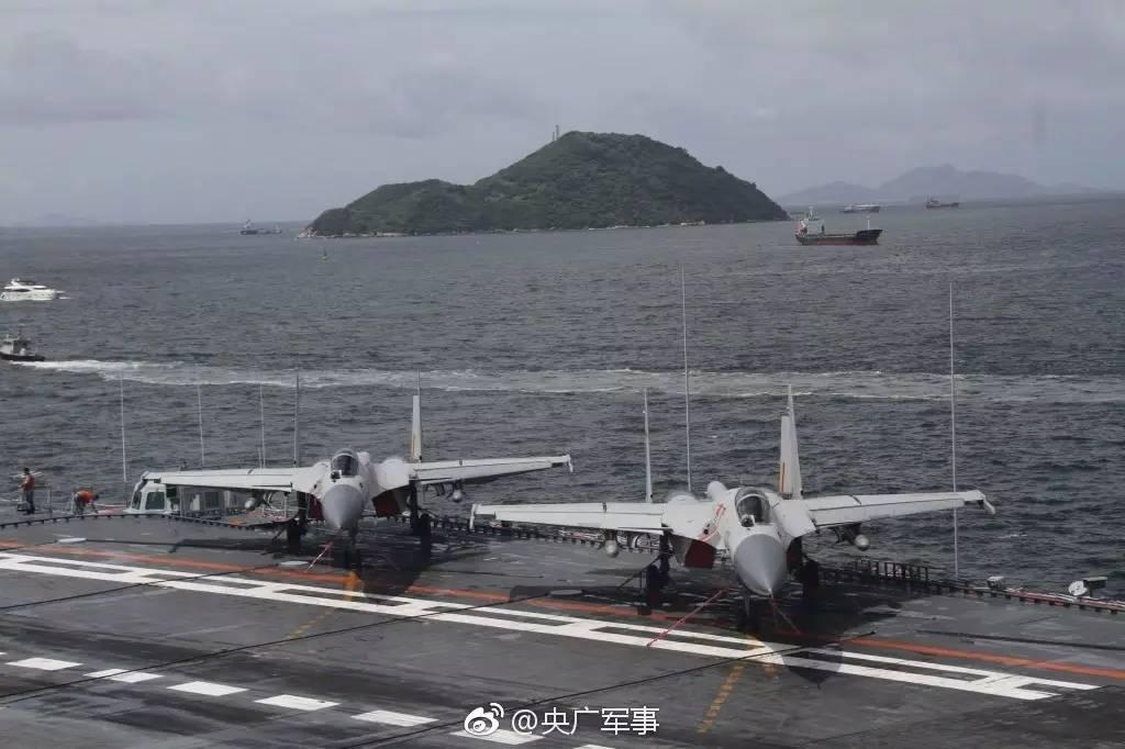 【集团动态】来了!七月七日,辽宁舰航母编队今晨抵达