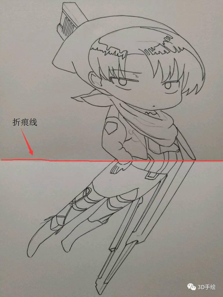兵长铅笔手绘图