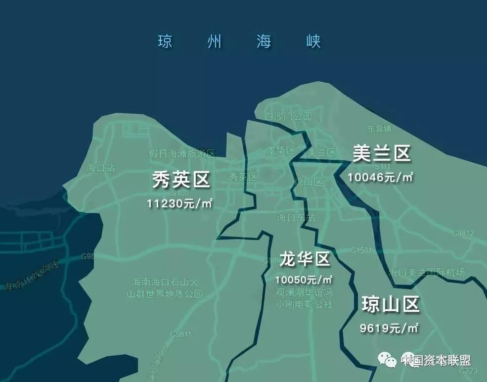 海口市地图_海口市人均住房面积
