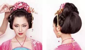 古代精致的女生盘发,走进宋朝的复古发型!