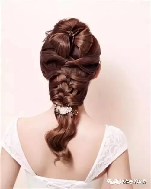 晚宴新娘发型图解分享展示