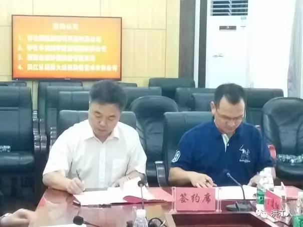 四大工业项目落户洪江区