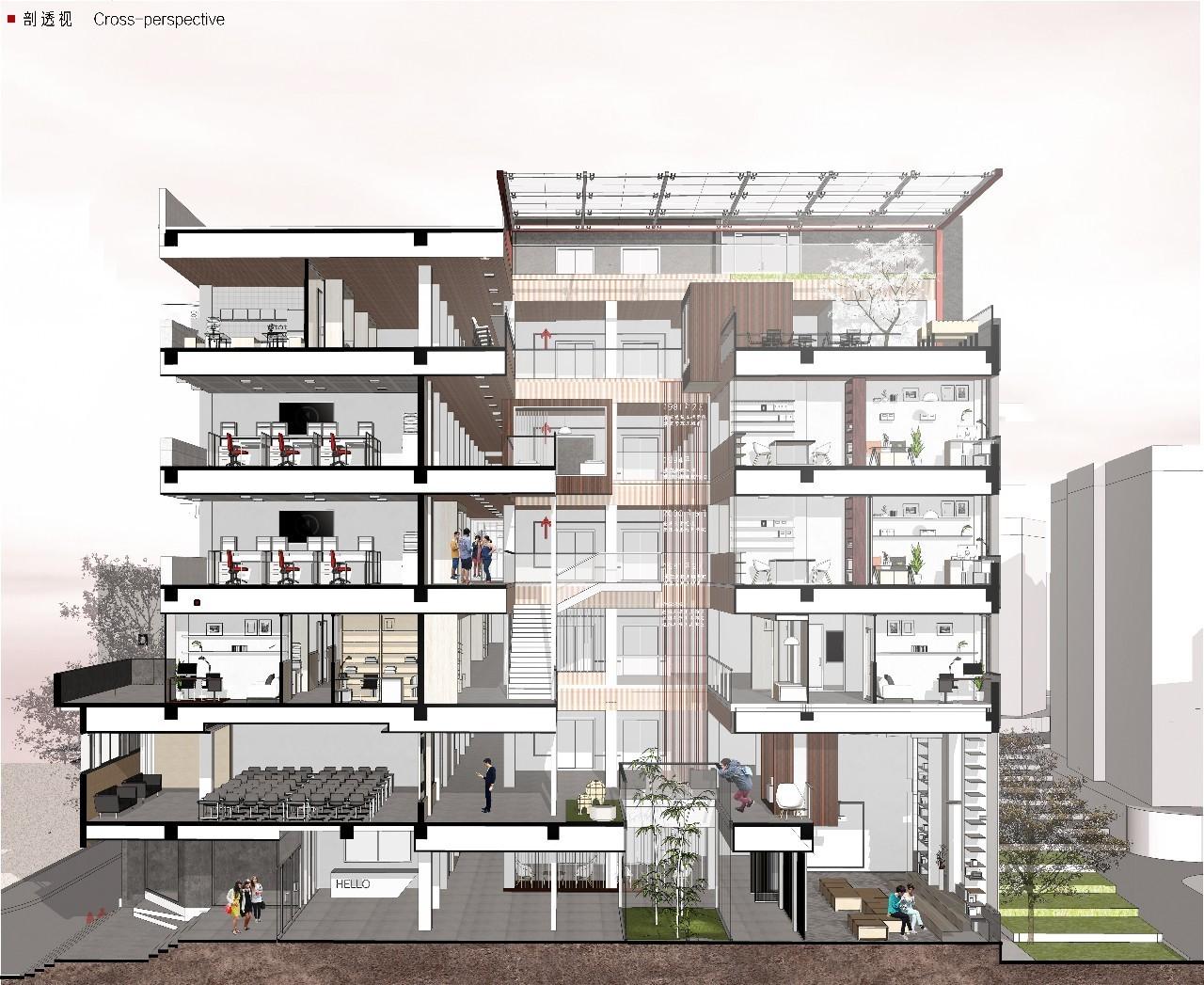建卒课堂丨重庆大学建筑城规学院建筑学专业本科三年级旧建筑改造设计