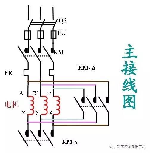 xqb50-368g控制电路图
